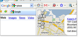 My Location GoogleBar